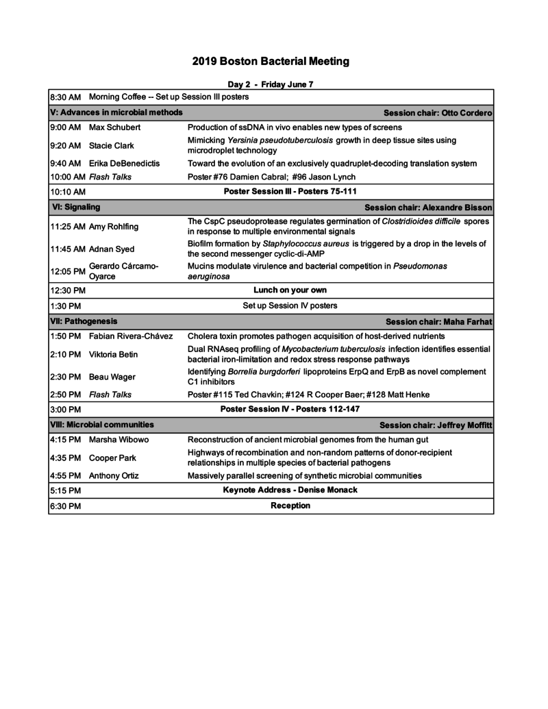 Abstract Book and Schedule – Boston Bacterial Meeting